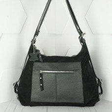 Кожаная сумка рюкзак №208