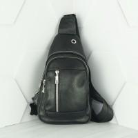 Кожаная мужская сумка №1005