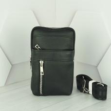 Кожаная мужская сумка №1010